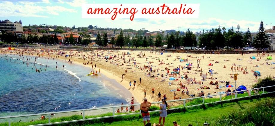 australia, beach, summer, bondi