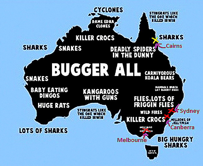 Map Of Australia Facts.Australia Ordinary Visions